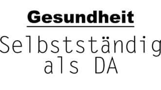 Selbstständig als DA | Gesundheitsblogger | münsterblogs.de