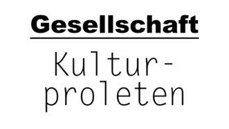 Kulturproleten | Gesellschaftsblog | münsterblogs.de