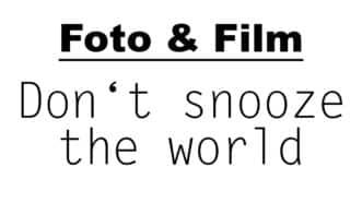 Don't snooze the world | Fotoblogger | münsterblogs.de